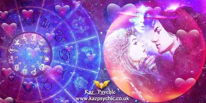Astrology of Love by expert love astrologer Kaz Psychic