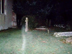 Photograph of one of the alleged ghosts which haunts Borley Rectory