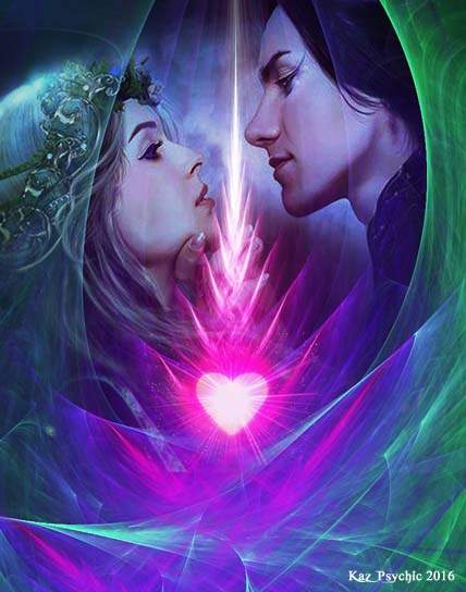 Eternal Flame of a Soul Mate Passion by Kaz Psychic January 2016 428 x 544
