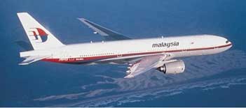 Missing Malaysian Flight 370