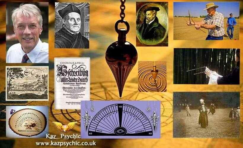 Pendulum dowsing history article by Kaz Psychic| Kazpsychic